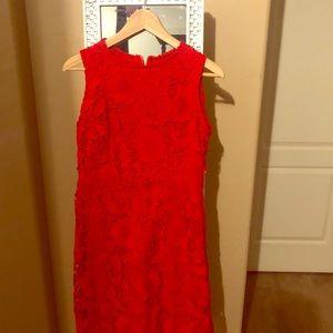 Ryan Michelle juniors XL coral red dress